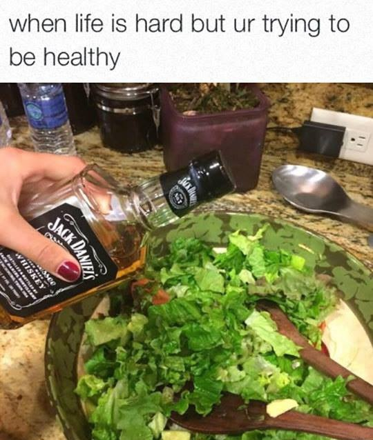 Trying To Be Healthy