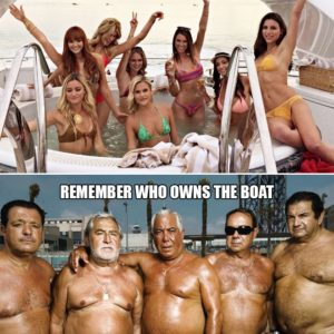 Remember Who Owns The Boat