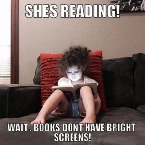 She Is Reading