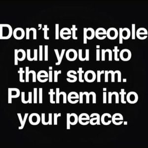 Don't Let People Pull You