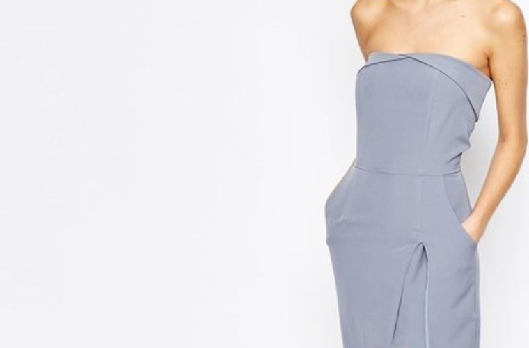 Trade In Your LBD For This Gorgeous Blue Midi Dress