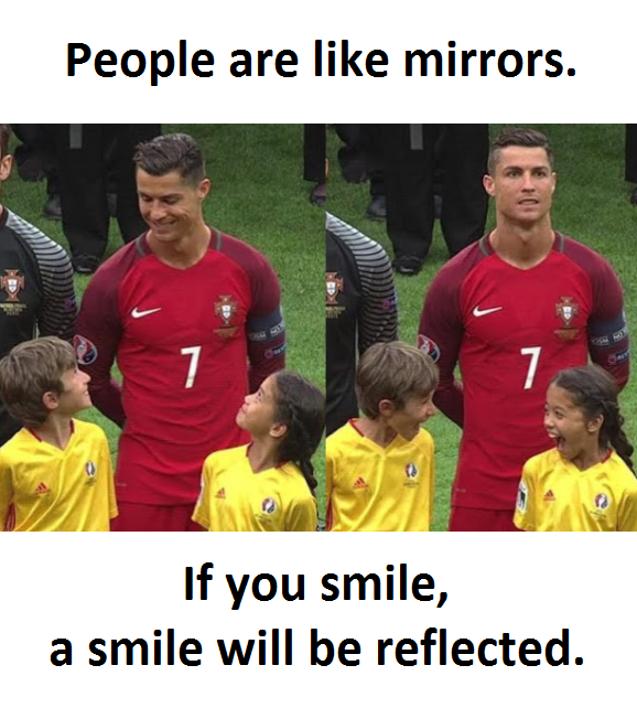 People Are Like Mirrors