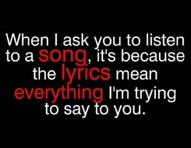 Listen To A Song
