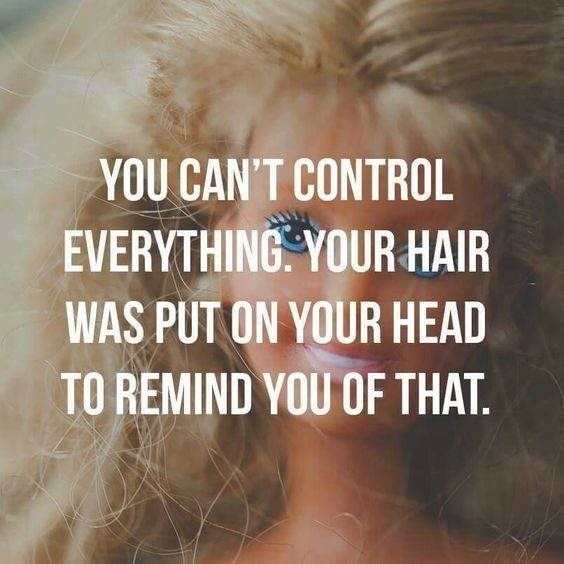 Can't Control Everything