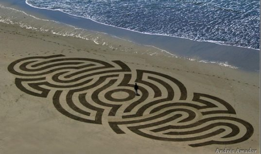 Beautiful Beach Art by Andres Amador