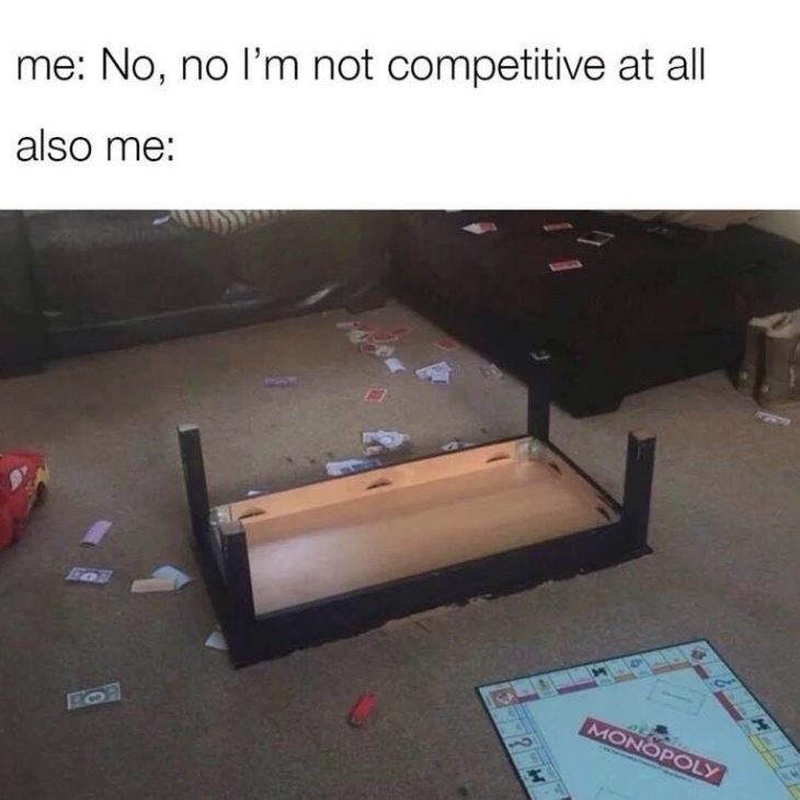 I'm Not Competitive