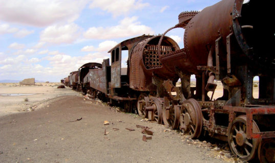 Train Graveyards: Inside the Final Resting Places of Locomotives