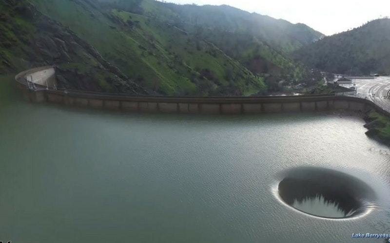 The Mystery Of The Hole In Lake Berryessa Is Finally Solved ...