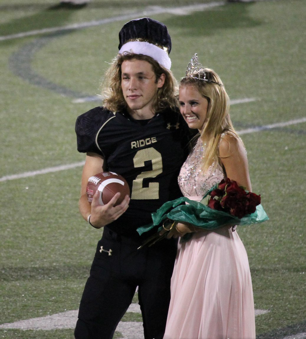After The High School Quarterback was Crowned Homecoming