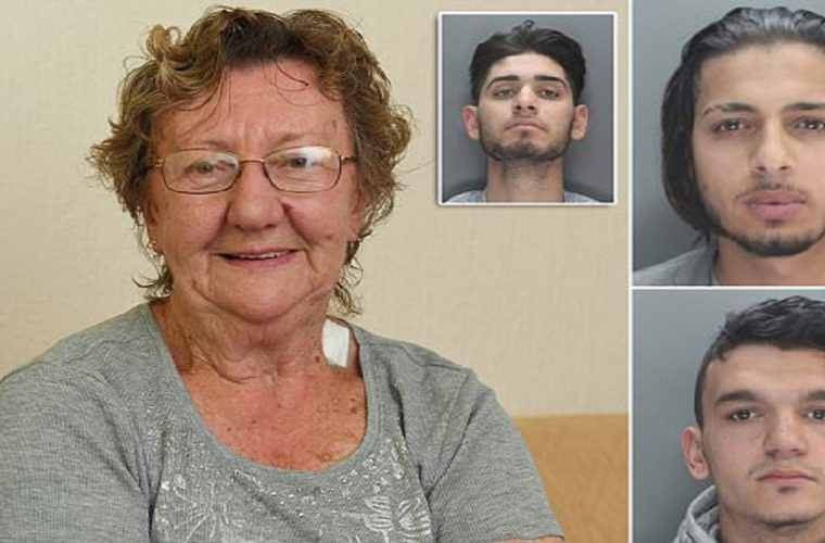 3 Men Block Grandma At ATM, Find Out They Messed With The Wrong Granny