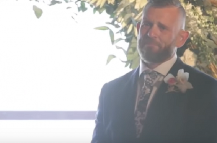 Husband Moved To Tears After Wife Does This At The Wedding